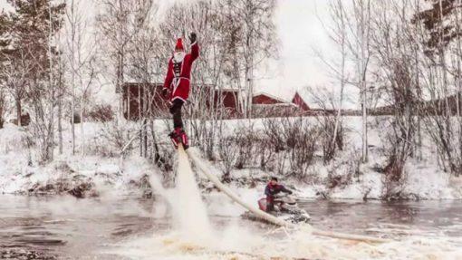 Flyboard_v_zimě
