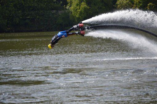 flyboard praha delfin